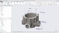 Creo 5.0新功能20 基于模型的定义中3D注释的浮动工具栏1