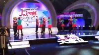 西部新城金秋舞蹈队参加直播天津卫的现场直播