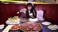 【大胃王mini】又吃九宫格火锅啦,20盘牛羊肉吃的太开心!