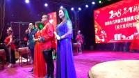 霍州市三教乡安乐村歌舞晚会(1)