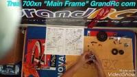 Trex 700xn Main Frame Assembly GrandRc.com