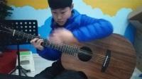 【吉他指弹】兴化王添乐第一次完整试弹《Sun Flower》