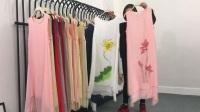 376期/双层竹节天丝麻料连衣裙+衬衫+开衫组合/32件一份/888元包邮