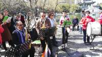 北京爱中华合唱团昌平公园大合唱--啊瓦人民唱新歌--3月24号