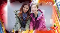 TVB江美仪出席活动宣传 前亚视艺人袁文杰、陈炜、江美仪开心合照