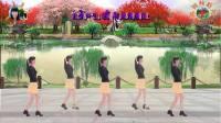 阳光美梅原创广场舞【我想你】恰恰风格32步-编舞:美梅