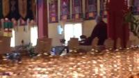 2018年3月25日(周日)下午,众生怙主大宝法王噶瑪巴,在自己北美洲根本道场噶玛三乘法轮寺(KTD)主持 玛哈嘎拉(大黑天)护法短轨及伽蓝菩萨(关公)仪轨修法