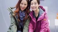 TVB江美仪出席活动宣传前亚视艺人袁文杰、陈炜、江美仪开心合照