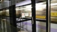 上海地铁10号线1039号车南京东路站上行出站(新江湾城站方向)
