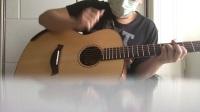 指弹吉他。翻弹 cover trace bundy的象王 elephant king 。finger style guitar。 别具一格的吉他指弹