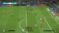 巴打Brother 实况足球2018解说 欧冠14决赛次回合 曼城(0)vs利物浦(3)