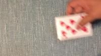 扑克牌扎金花发底牌纯手法牌技详细讲解教学揭秘