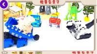 恐龙卡车玩具让我们走吧卡通与汽车怪物卡车恐龙汽车智能玩具TaTaTaToys