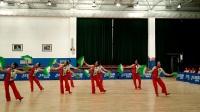 《全国第七套健身秧歌》8人组 ―滨州市黄河小区舞蹈队 教练杭薇