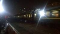 Y502次列车通过手帕口20180414