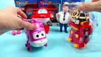超级飞侠玩具工具箱 乐迪多多 酷飞包警长变身玩具 益智玩具