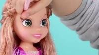 小伶玩具之长发美女又开始化妆啦