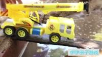 大卡车视频 托马斯马里奥红叔蓝精灵   铲车工作视频 挖土机视频表演 大卡车视频