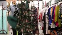 精品女装批发服装批发女士时尚品牌夏装精品连衣裙走份15件一份,不挑款零售混批