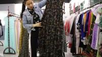 精品女装批发服装批发女士时尚品牌夏装精品连衣裙30件起批,可挑款零售混批