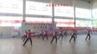 第四届山东省老运会柔力球比赛规定套路《走向复兴》莱芜市柔力球队2018-4-18
