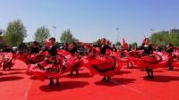 淮阳广场舞赛夺冠节目《西班牙之花》(阿翁摄于2018.4.19)