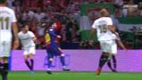 国王杯-梅西两传一射 巴萨5-0大胜塞维利亚夺冠