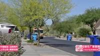 挂桶垃圾车工作视频