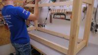 制作车床工作台&木工桌Building the Lathe Stand&Workbench