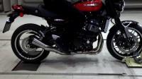 川崎Kawasaki Z900 RS摩托车REMUS改装复古排气管