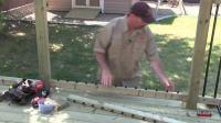 如何做个露台How To Build A Deck - #4 Railing