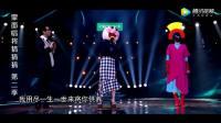 蒙面歌手唱《爱的供养》模仿杨幂,评委直呼: 太像了!