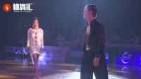2018WDSF国际体育舞蹈公开赛(黄石)国际排名前12俄罗斯选手精彩桑巴SOLO