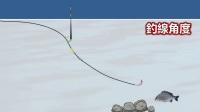 钓鱼技巧:矶钓半游动钓组铅的使用