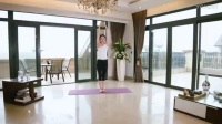 瑜伽初级教程在家练,经典初级瑜伽教学视频第八集:普拉提瘦腰