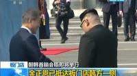 朝韩首脑会晤: 朝韩领导人握手 互致问候
