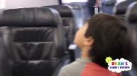 儿童飞机旅行的黏液和弹头酸糖
