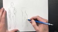 美术教程 (英文) 10-01,人体轮廓