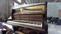 编号2251日本国宝级纯手工 OHHASHI大桥 1966年产二手钢琴原始状态详细对比70年代YAMAHA和KAWAI
