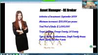 First Realty SchoolReal Estate Investment by TJ-President of RAC development