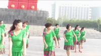 获嘉艳霞广场舞蹈队-好看又健身的《老妹你真美》团队版