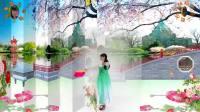 阳光美梅广场舞【弱水三千】古典扇子舞-最新广场舞视频