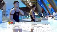女双十米台 中国小花组合五跳稳定发挥 成功复仇夺冠