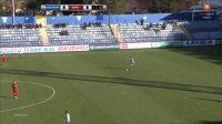 Darko Nikac2017-12-10右边锋黑山甲联 FK Buducnost Podgor 0-1FK Iskra Danilov上,白衣9号,22分助攻