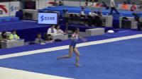 刘津茹 - Liu Jinru (河南) FX Podium Training 2018全国体操锦标赛,肇庆