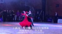 王枫逸邹晓敏2018中传锦绣杯郑州站:华尔兹_20180429
