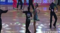 2018年中国体育舞蹈公开系列赛(黄石站)16岁以下组L预赛牛仔【VIP】朱新奇 高心怡1
