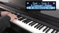 Roland GP  LX  HP 系列快速指南 #03——使用复音与键盘分层功能