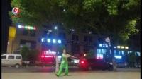 庆五一柔力球双拍双球套路展示《我们的生活充满阳光》浙江武义周美芝