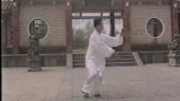 太极大师丁水德70岁演练传统杨式太极拳85式拍摄时间2000年9月22日